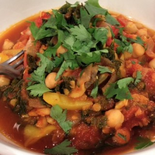 Chickpea, Kate and Tomato Stew_2