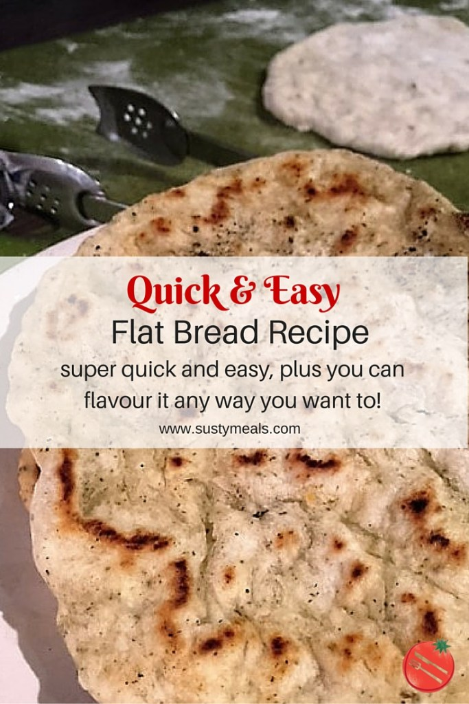 Quick and Easy Flat Bead Recipe