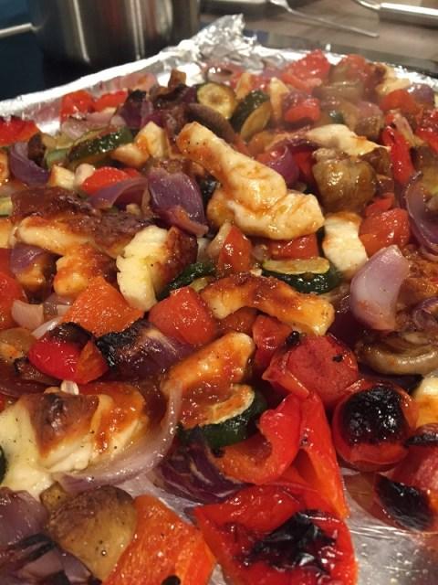 Deconstructed Halloumi Kebab   Sarah Irving Susty Meals