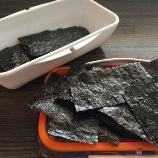 Crispy Nori Snacks