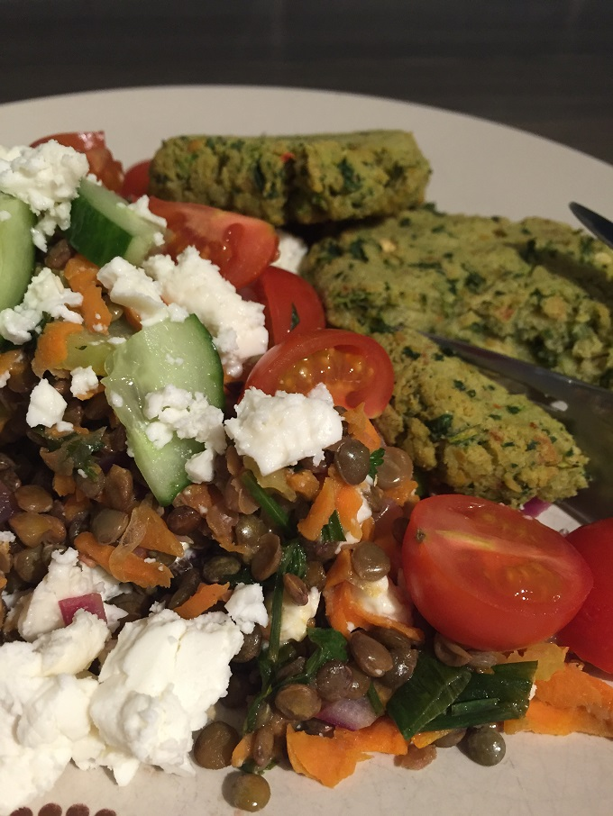 Warm Puy Lentil Salad