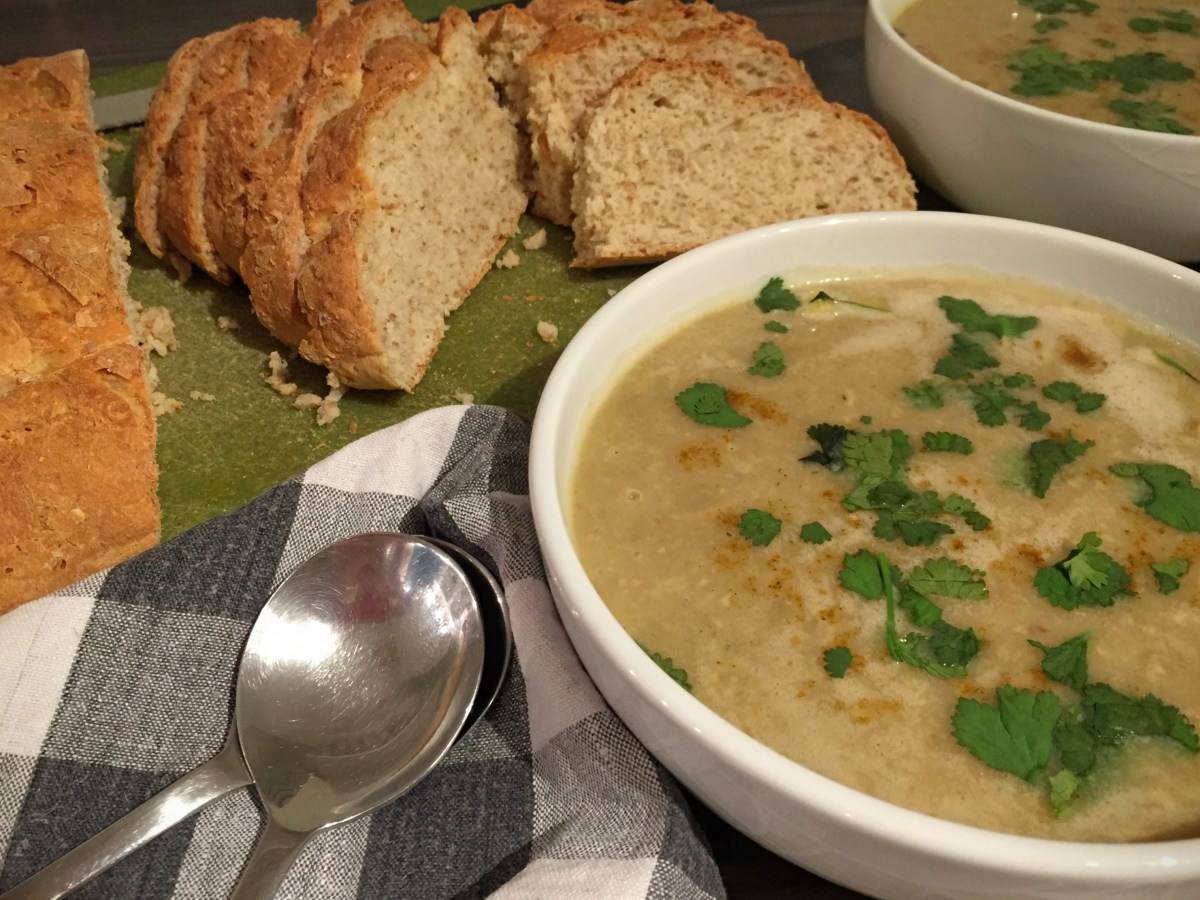 Creamy Curry Mushroom Soup