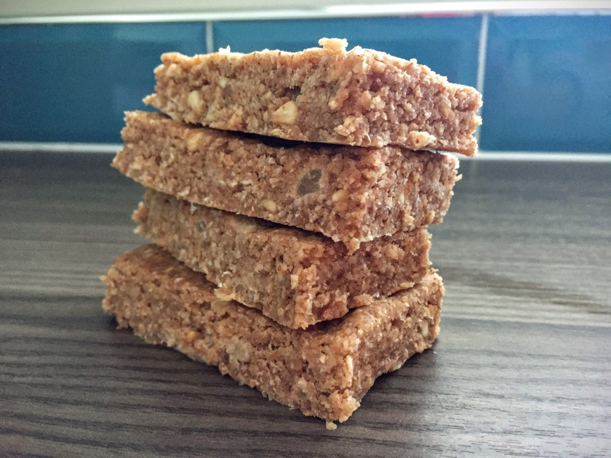No Bake Oaty Apple Energy Bars