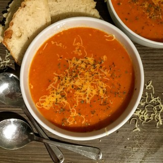 Roasted Tomato, Pepper and Chilli Balsamic Soup