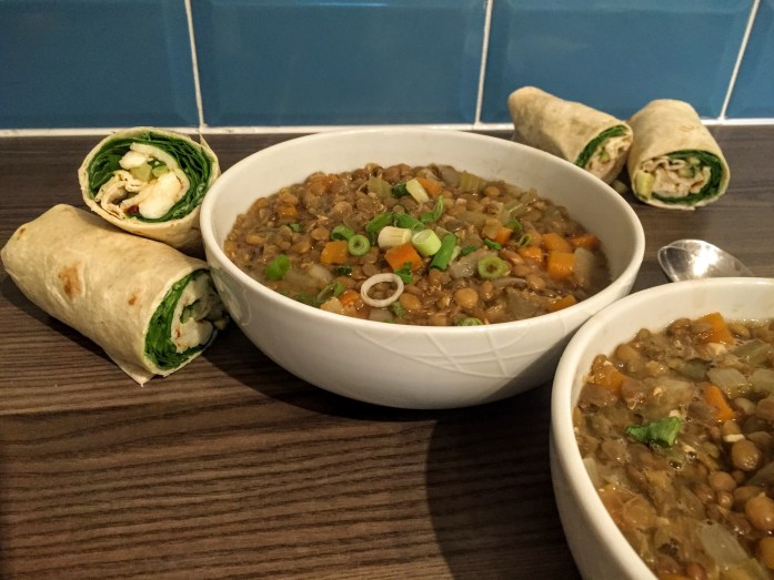 Chunky Lentil and Vegetable Stoup | Chunky Vegan Soup Recipe | Vegetarian | Susty Meals | Sarah Irving