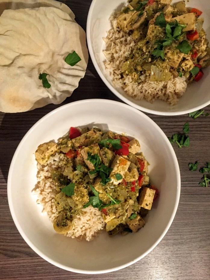Tofu That Green Curry | Vegan Recipes | Vegetarian Recipes | Sarah Irving | Susty Meals