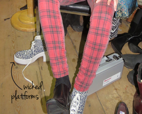 Miz Baggs Platform Shoes