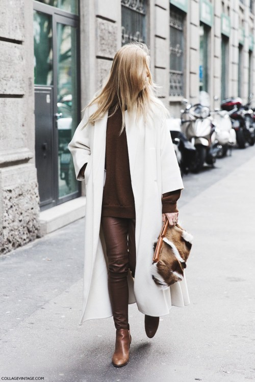 how to dress in monochrome