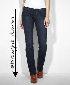 Levis curve jeans