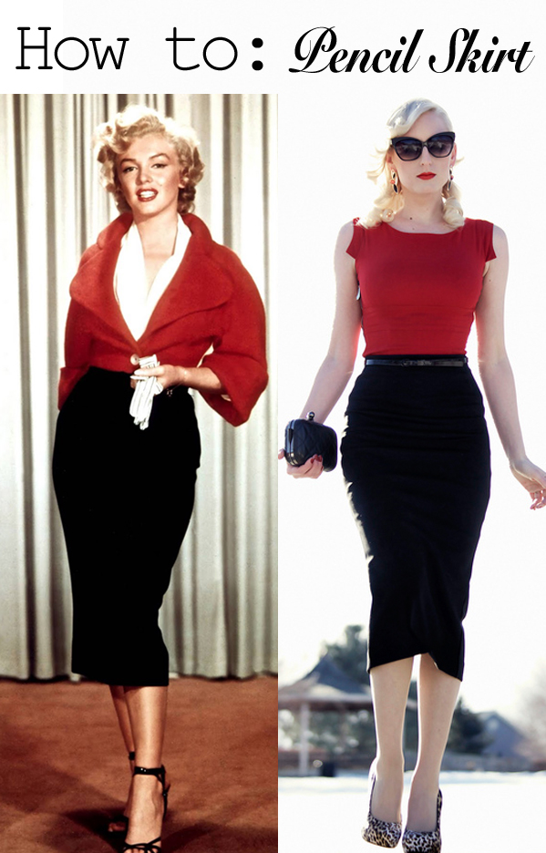 How_to_wear_a_vintage_pencil_skirt