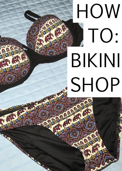 How to bikini shop tips on how to shop for a bikini