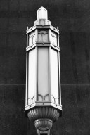 Art Deco outdoor Lamp on the Carbide & Carbon Building Chicago