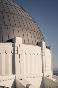Griffith Observatory close up dome details