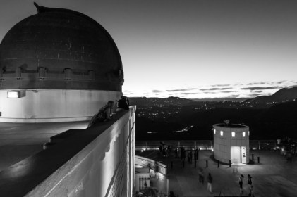 Griffith Observatory, facing west