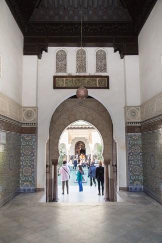 Portico at Paris Grand Mosque