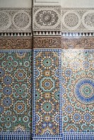 Mosaic Wall at Paris Grand Mosque