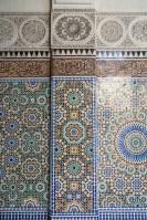 Mosaic Wall at Paris Grand Mosque