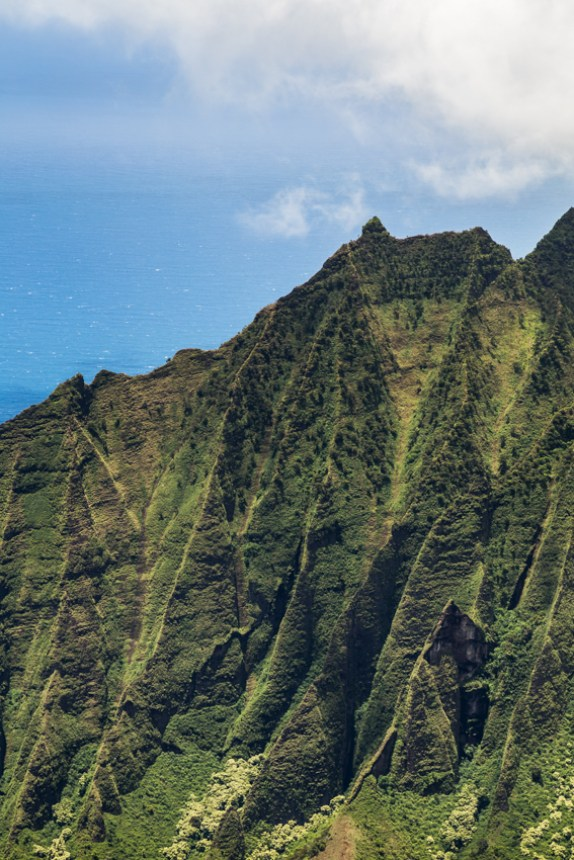 Na'pali mountains