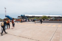 Galapagos Flights at Baltra Airport