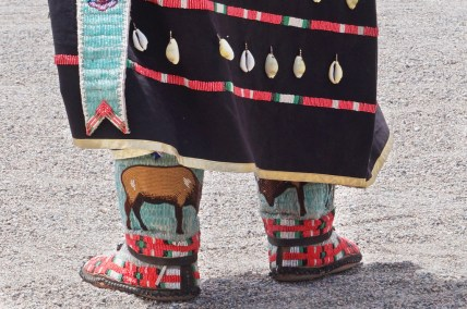 Pow-Wow handmade beaded mocasins