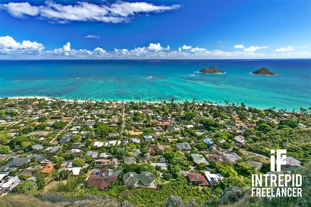 Lanikai Pillbox Trail Hawaii