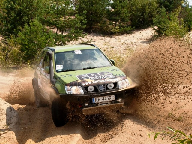 Suzuki Grand Vitara II Cross-Country Rally EBC Brakes