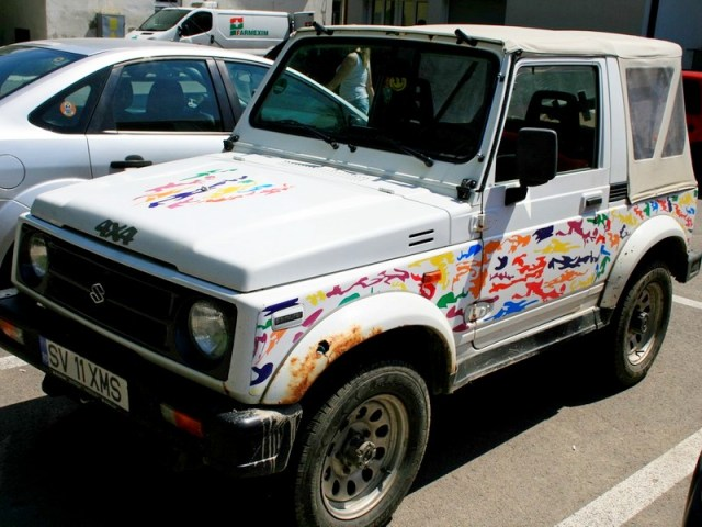 Suzuki RO czyli Suzukowcy z Rumunii