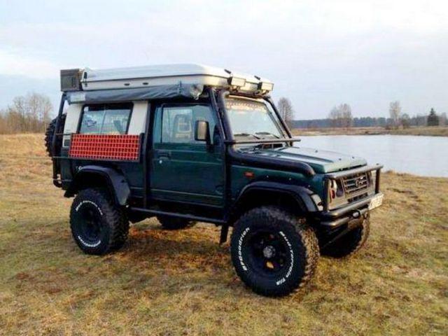 Suzuki Samurai Franca – extremalna wyprawówka wg Adrenalinka.pl
