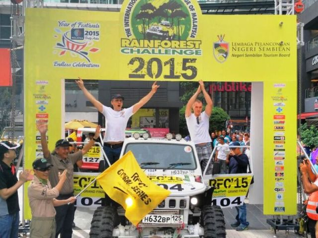 Suzuki na Rainforest Challenge 2015