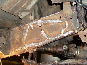 Сварка рамы грузового автомобиля