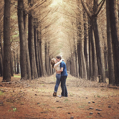 Kuitpo Forest Couple Shoot