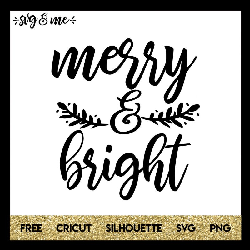 Large Of Merry And Bright