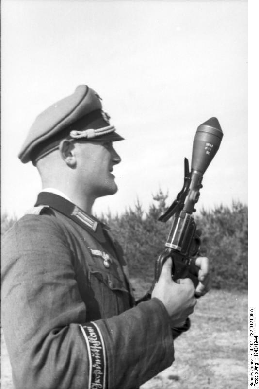 """Russland, Soldat der Division """"Großdeutschland"""""""