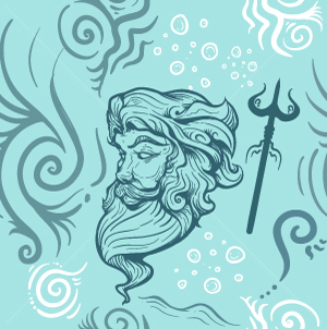 10.Poseidon Seamless Pattern