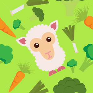 39.Sheep Seamless Pattern