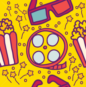 45.Cinema Seamless Pattern
