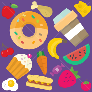 46.Food Seamless Pattern