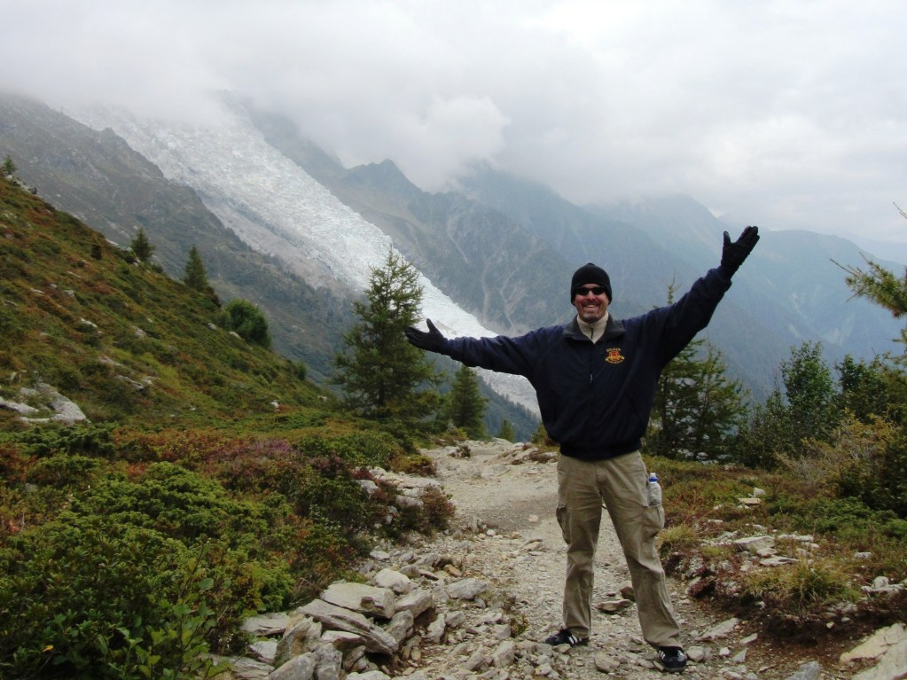 Chamonix - Me Hiking