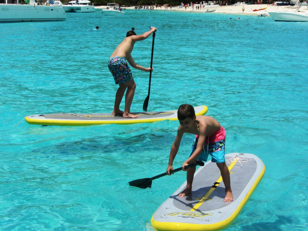 Get your paddle board on