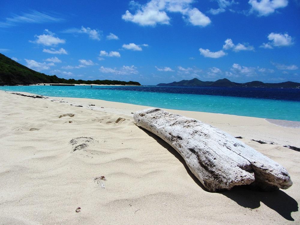 USVI - St Croix - Buck Island - Beach