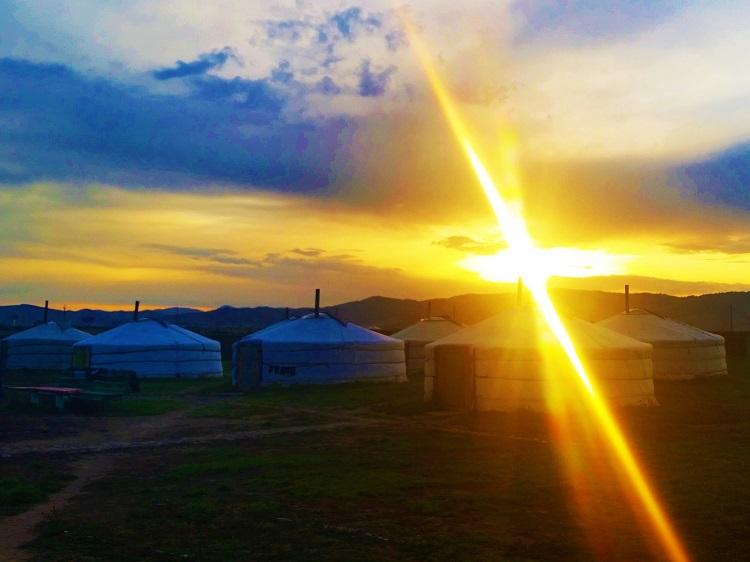 mongolia-potd-5-ger-camp-sunset