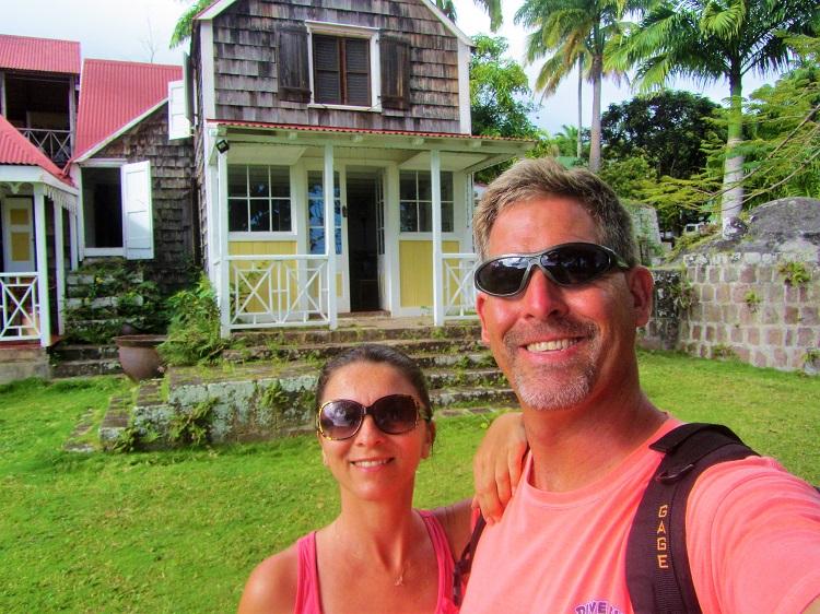 Nevis - 1st Day - Hermitage - Us