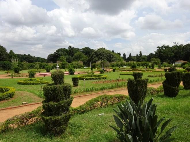 Bangalore palace gardens