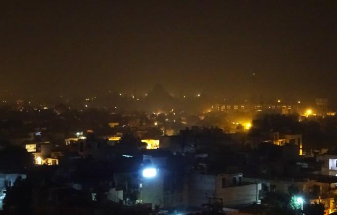 taj night view