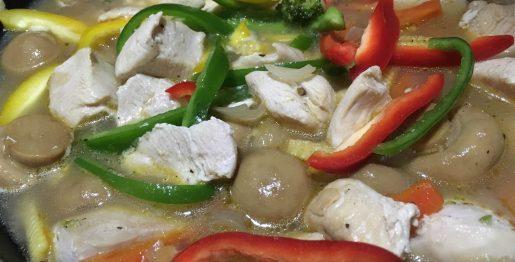 Colourful Chicken Stew