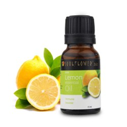 Soulflower Lemon Essential Oil