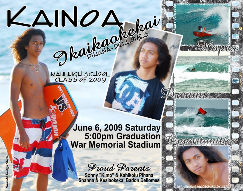 Grande In Graduation Announcement Kainoa Graduation Announcement Idea Class Boys 2009 Twin Graduation Announcement Ideas Graduation Announcement Ideas