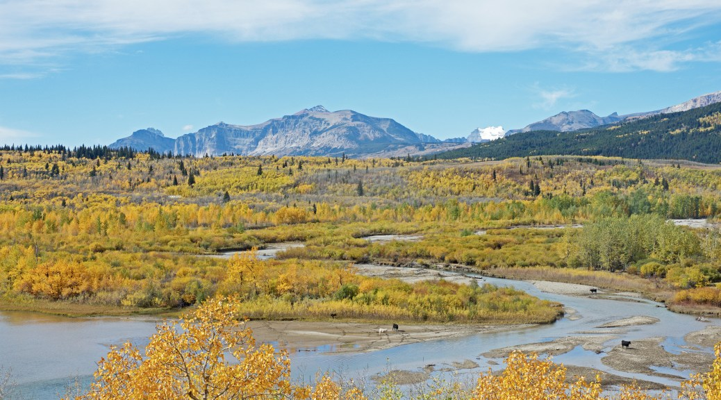 fall-colors-glacier-stream-mountains