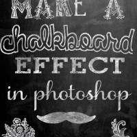 Make a Chalkboard Effect in Photoshop
