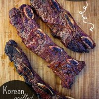 Korean Grilled Flanken Ribs